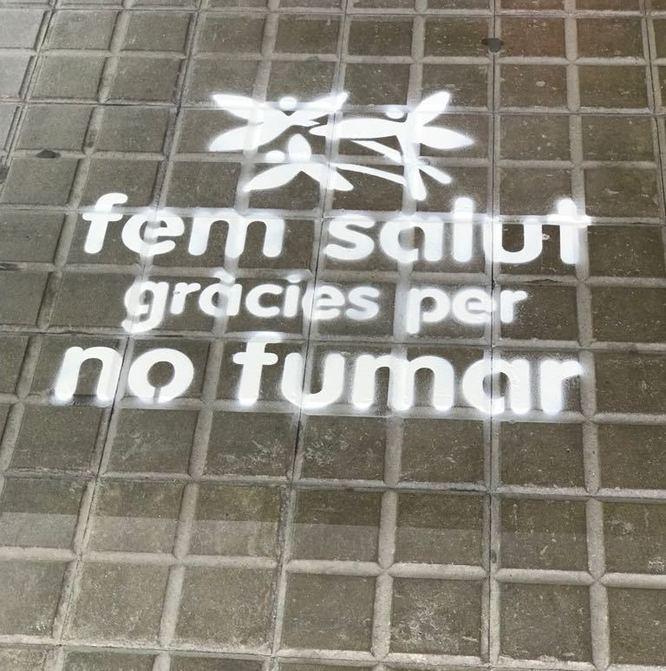 Els Centres d'Atenció Primària de Badalona s'adhereixen a la campanya Fem Salut. Gràcies per no fumar!
