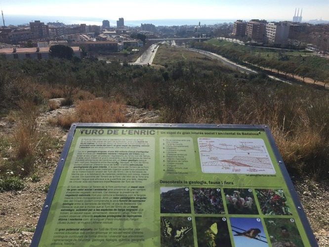 El proper diumenge, 7 d'octubre, es posa en marxa la 'Jugatecambiental' del parc del Torrent de la Font i del Turó de l'Enric