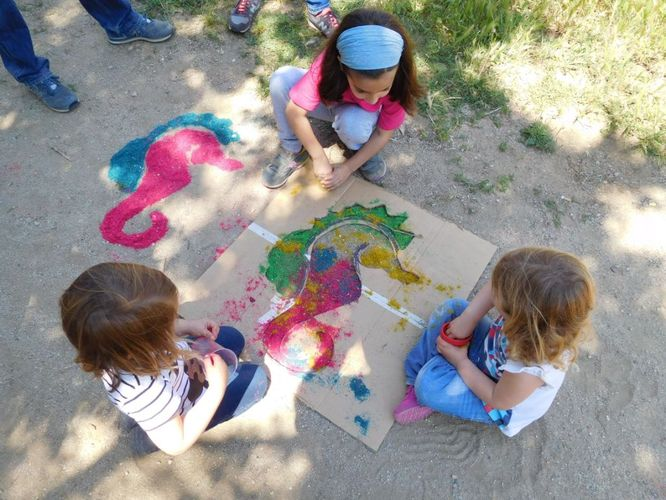 Diumenge, 14 d'octubre, al parc de Can Solei i de Ca l'Arnús, es farà el taller Joc de land art: els colors de la tardor