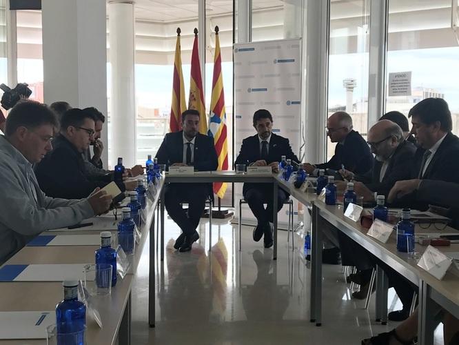 El conseller Calvet anuncia la fi de les obres del lateral de la C-31 a Badalona per al primer trimestre del 2019