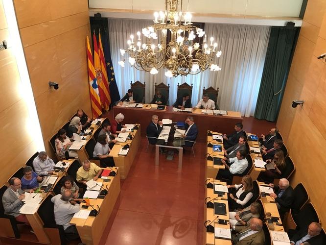 El dimarts 30 d'octubre, sessió ordinària del Ple de l'Ajuntament de Badalona