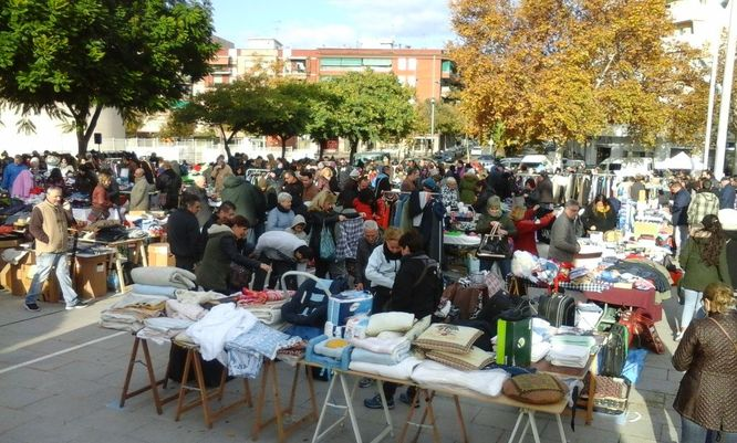 Aquests dilluns 5 de novembre s'obren les preinscripcions per participar en el proper Mercat del Trasto de Badalona