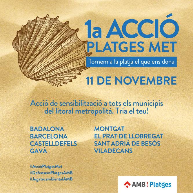 Badalona participa aquest diumenge en una campanya per sensibilitzar la ciutadania envers els valors dels ecosistemes litorals metropolitans