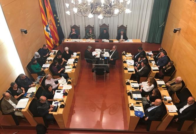 El dimarts 27 de novembre, sessió ordinària del Ple de l'Ajuntament de Badalona