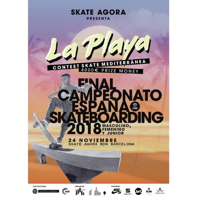Badalona serà escenari aquest dissabte de la final del Campionat d'Espanya d''street skateboarding'
