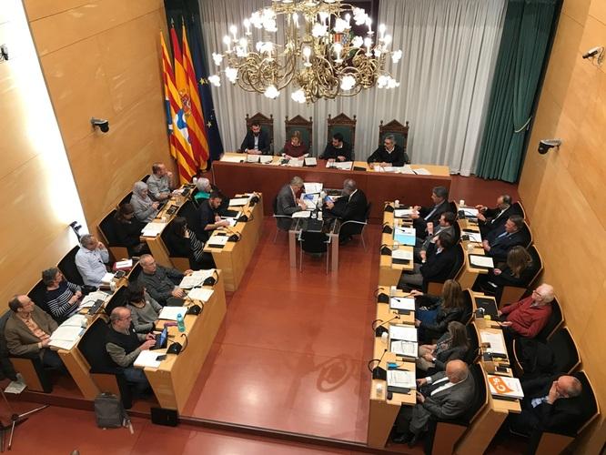 El Ple de l'Ajuntament de Badalona aprova inicialment el pressupost municipal de 2019 que creix un 9,2% i se situa en 174,7 milions d'euros