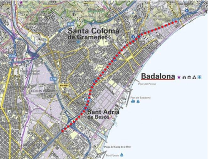La Generalitat aprova iniciar la redacció del Pla director urbanístic de transformació de l'autopista C-31 al seu pas per Badalona i Sant Adrià del Besòs