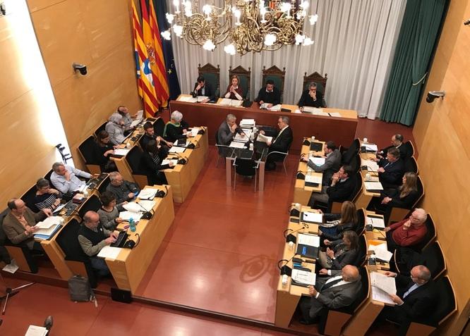 El dimarts 29 de gener, sessió ordinària del Ple de l'Ajuntament de Badalona