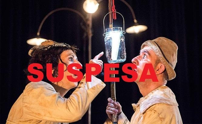 Suspesa per lesió d'un dels membres de la companyia la funció de l'espectacle Nàufrags d'aquest diumenge, 27 de gener, al Teatre Zorrilla