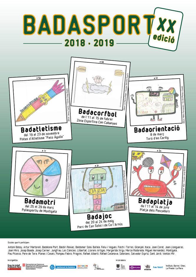 Dilluns s'inicia el Badacorfbol, la segona activitat del Badasport que promou la pràctica de l'esport escolar a Badalona