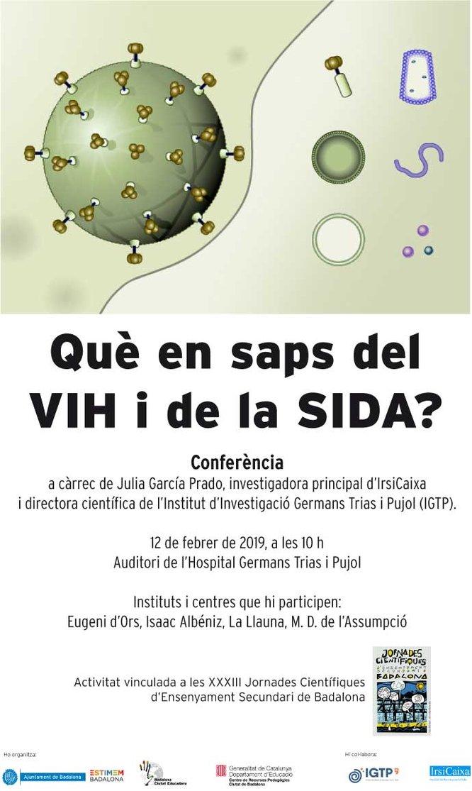 S'inauguren les XXXIII Jornades Científiques d'Ensenyament Secundari de Badalona amb una conferència sobre el VIH/sida