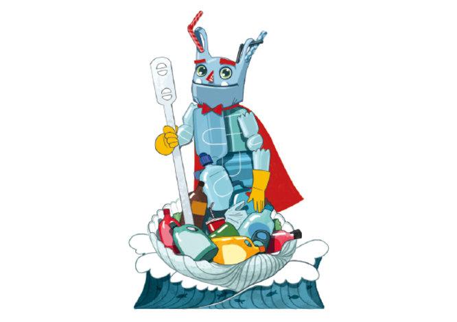 Una al·legoria contra el llançament de residus al mar serà el dimoni que es cremarà per les Festes de Maig de Badalona