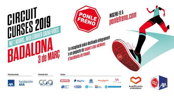 Aquest diumenge es corre a Badalona la primera edició de la cursa Ponle Freno a la ciutat
