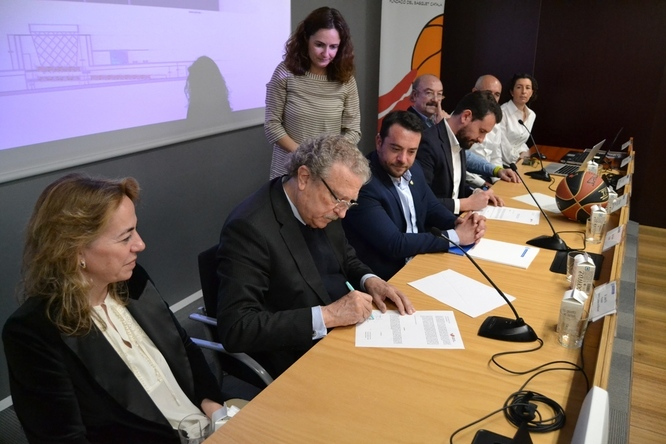 L'Ajuntament de Badalona presenta el projecte d'un poliesportiu al barri Manresà