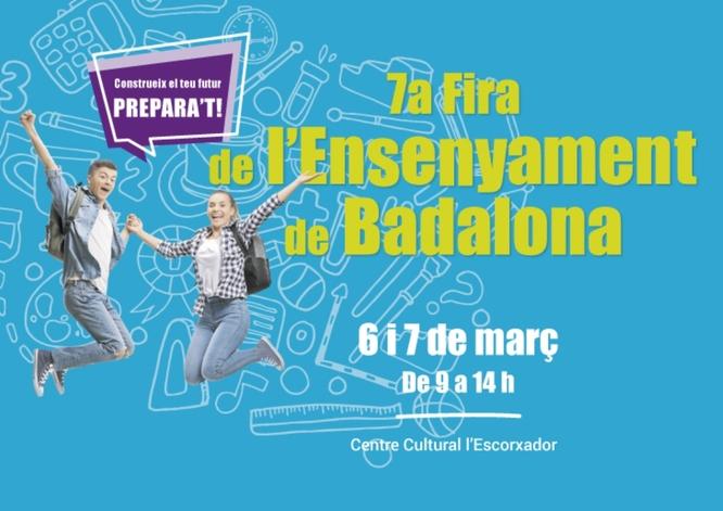 Badalona acull els dies 6 i 7 de març la 7a Fira de l'Ensenyament al Centre Cultural l'Escorxador