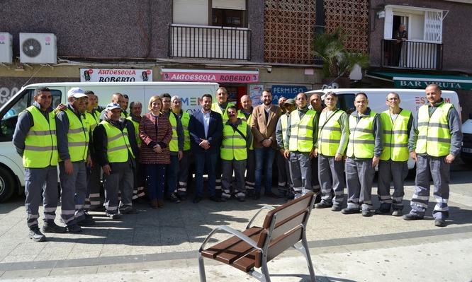 Badalona disposa de noves brigades de manteniment de la via pública