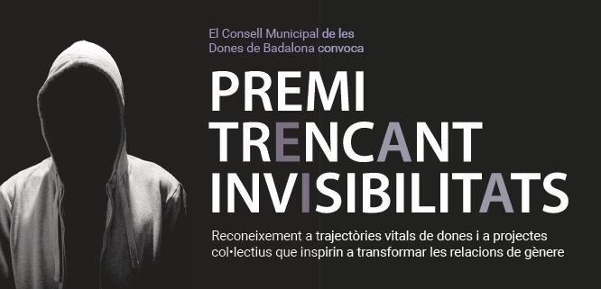 Beatriu Bayés i Marisa Drago són les candidates en la categoria trajectòria individual al premi Trencant Invisibilitats 2019