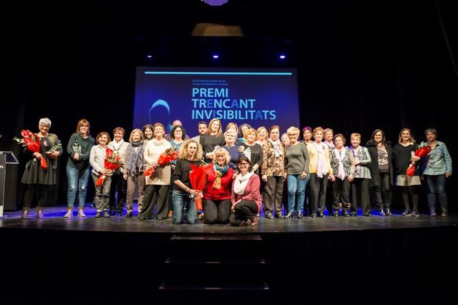 Marisa Drago i el projecte FAR de la Fundació Salut Alta guanyen el premi Trencant Invisibilitats 2019