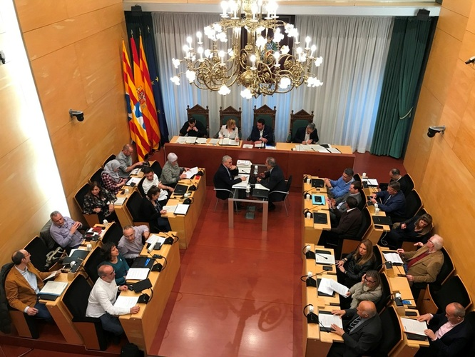 El dimarts 26 de març, sessió ordinària del Ple de l'Ajuntament de Badalona