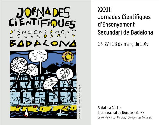 Badalona celebra les XXXIII Jornades Científiques d'Ensenyament Secundari