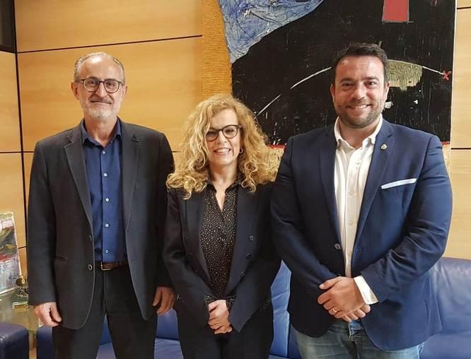 Reunió dels alcaldes dels municipis de Badalona, Mollet i Sant Fost de Campsentelles afectats pel traçat de la carretera B-500