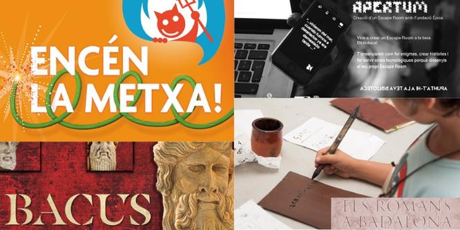 Activitats més destacades a la Xarxa Municipal de Biblioteques de Badalona per aquest mes