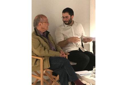 Poesia de cambra a dues veus: Corredor-Matheos i Bernat Puigdollers