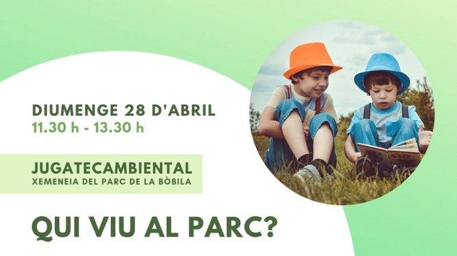 Activitats per aquest cap de setmana, a la 'Jugatecambiental' del parc de Can Solei i de Ca l'Arnús i a la del Torrent de la Font i del Turó de l'Enric de Badalona