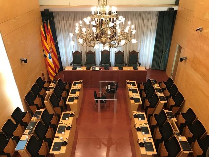 El dimarts 30 d'abril, sessió ordinària del Ple de l'Ajuntament de Badalona