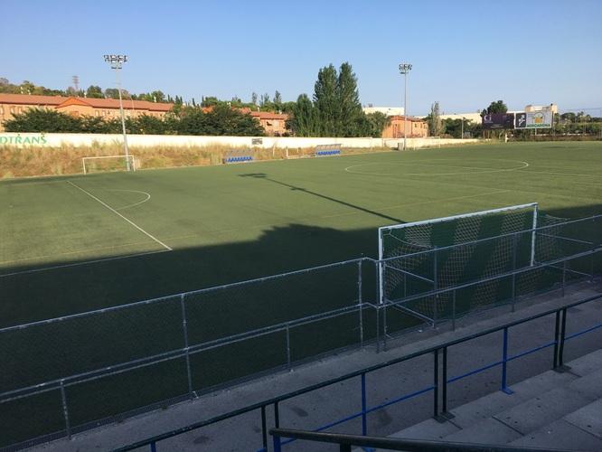 Les instal·lacions d'aigua sanitària del Camp de futbol de Pomar es tanquen temporalment per presència de legionel·la