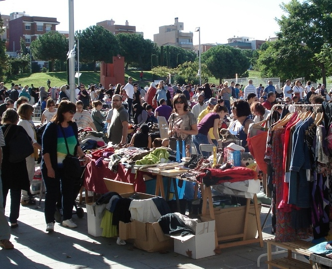 Aquest diumenge, 19 de maig, es farà a Badalona una nova edició del Mercat del Trasto