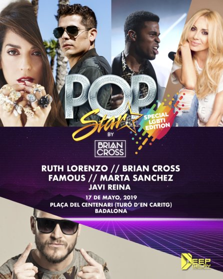 Popstar by Brian Cross LGTBI Edition