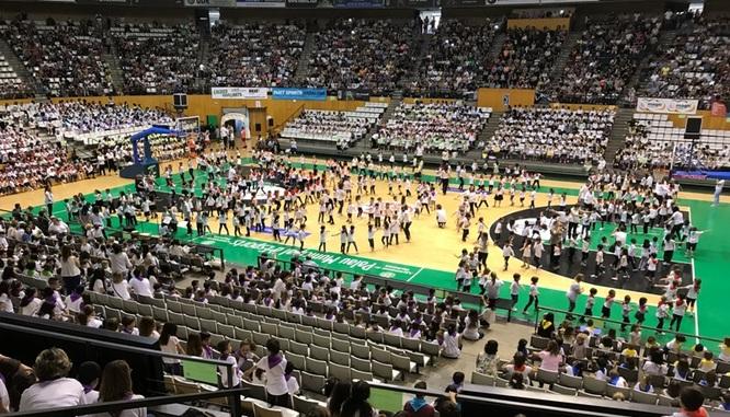 Badalona organitza la 18a Trobada escolar de danses