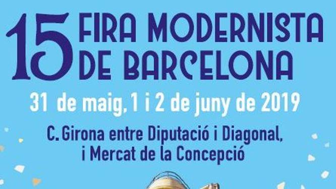 Badalona participa en la XV edició de la Fira Modernista de Barcelona que se celebra aquest cap de setmana