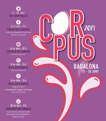 Corpus Badalona 2019