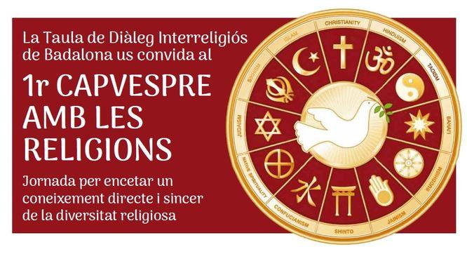 Badalona celebra dissabte el 1r Capvespre de les religions