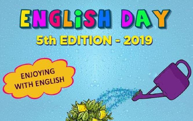 Prop de set-cents alumnes de 3r i 4t de diverses escoles de Badalona participen a l'English Day 2019