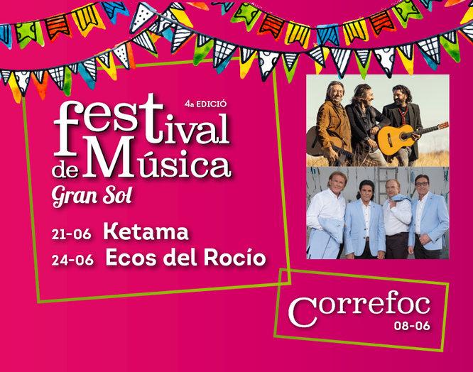 Ketama i Ecos del Rocío tanquen aquest cap de setmana les Festes de Llefià de Badalona