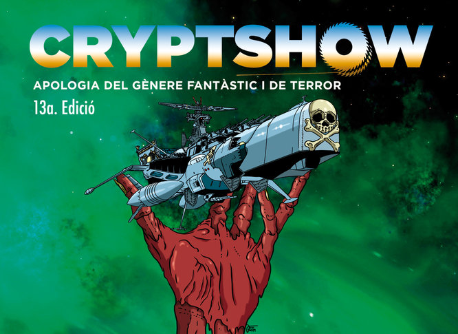 Badalona reivindica els gèneres de terror, fantasia i ciència-ficció amb la 13a edició del Cryptshow Festival