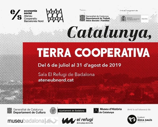 """La sala El Refugi de la plaça de la Vila presenta l'exposició """"Catalunya, TERRA COOPERATIVA"""""""