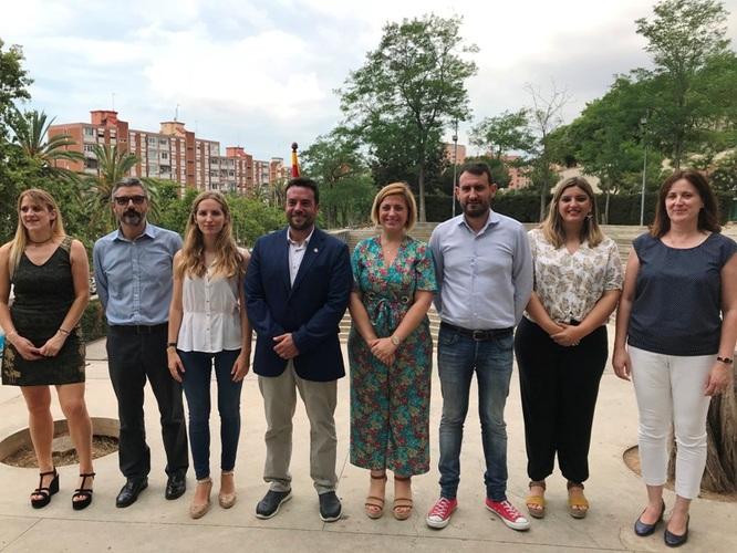 L'alcalde de Badalona, Álex Pastor, presenta el nou Govern amb la inclusió del Grup Municipal Badalona En Comú Podem