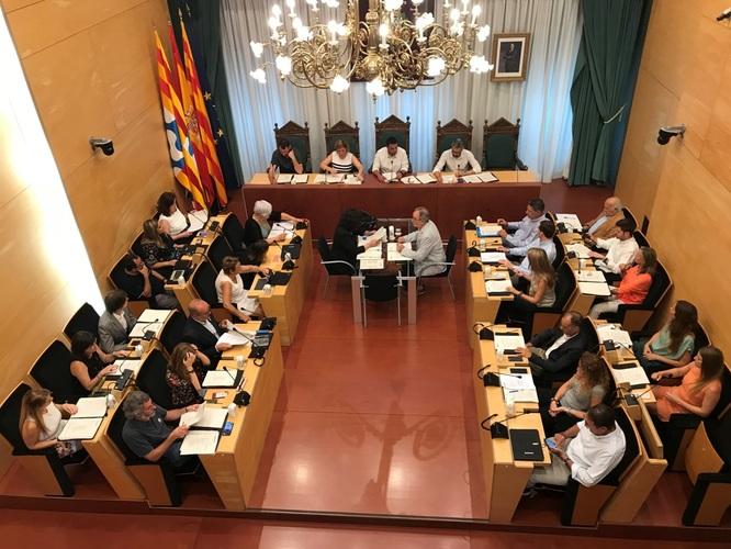 El dimarts 30 de juliol, sessió ordinària de Ple de l'Ajuntament de Badalona