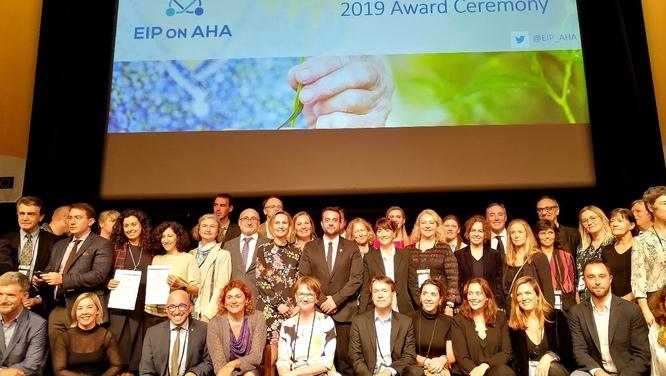 L'Ajuntament de Badalona presenta a la ciutat el màxim guardó que ha rebut de la Comissió Europea com a lloc de referència en innovació en envelliment actiu i saludable