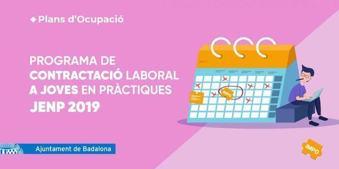 El Servei Municipal de Promoció de l'Ocupació obre el procés d'inscripció per participar al Programa contractació en pràctiques de joves beneficiaris del Programa de garantia juvenil de Catalunya