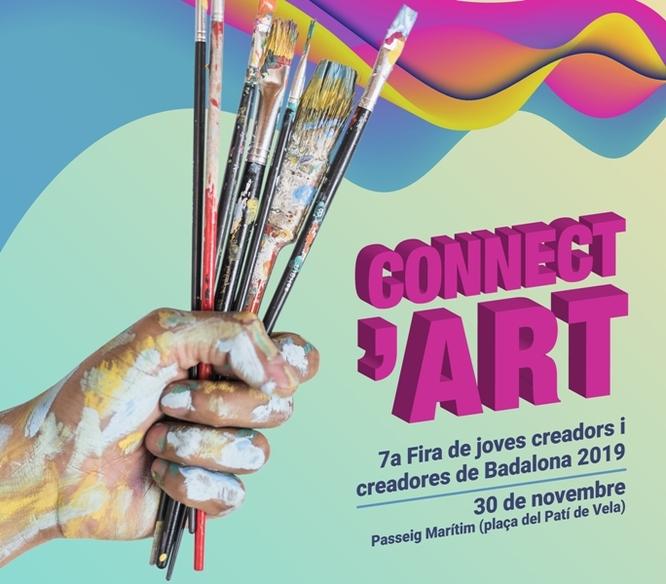 Oberta fins al 12 de novembre la convocatòria per participar al Connect'Art 2019 a Badalona