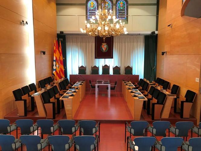 El dimarts 29 d'octubre, sessió ordinària del Ple de l'Ajuntament de Badalona