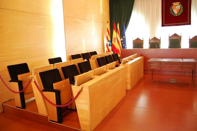Dimecres, 13 de novembre, sessió extraordinària del Ple de l'Ajuntament de Badalona
