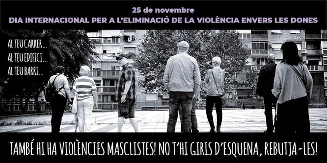 Badalona inicia aquest divendres els actes amb motiu del Dia Internacional per a l'Eliminació de la Violència envers les Dones