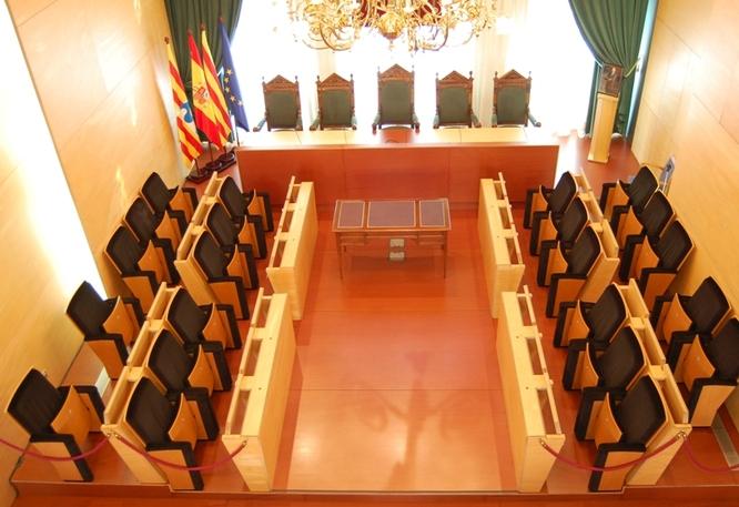 El dimarts 26 de novembre, sessió ordinària del Ple de l'Ajuntament de Badalona
