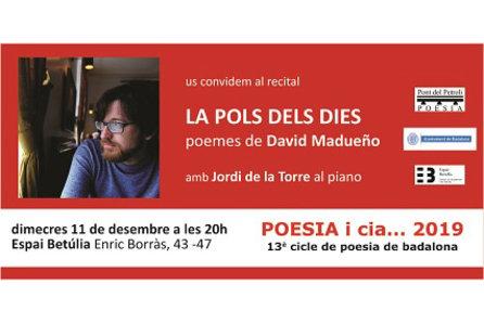 La pols dels dies, poemes de David Madueño
